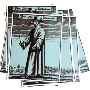 Plague Doctor Sticker dark age productions