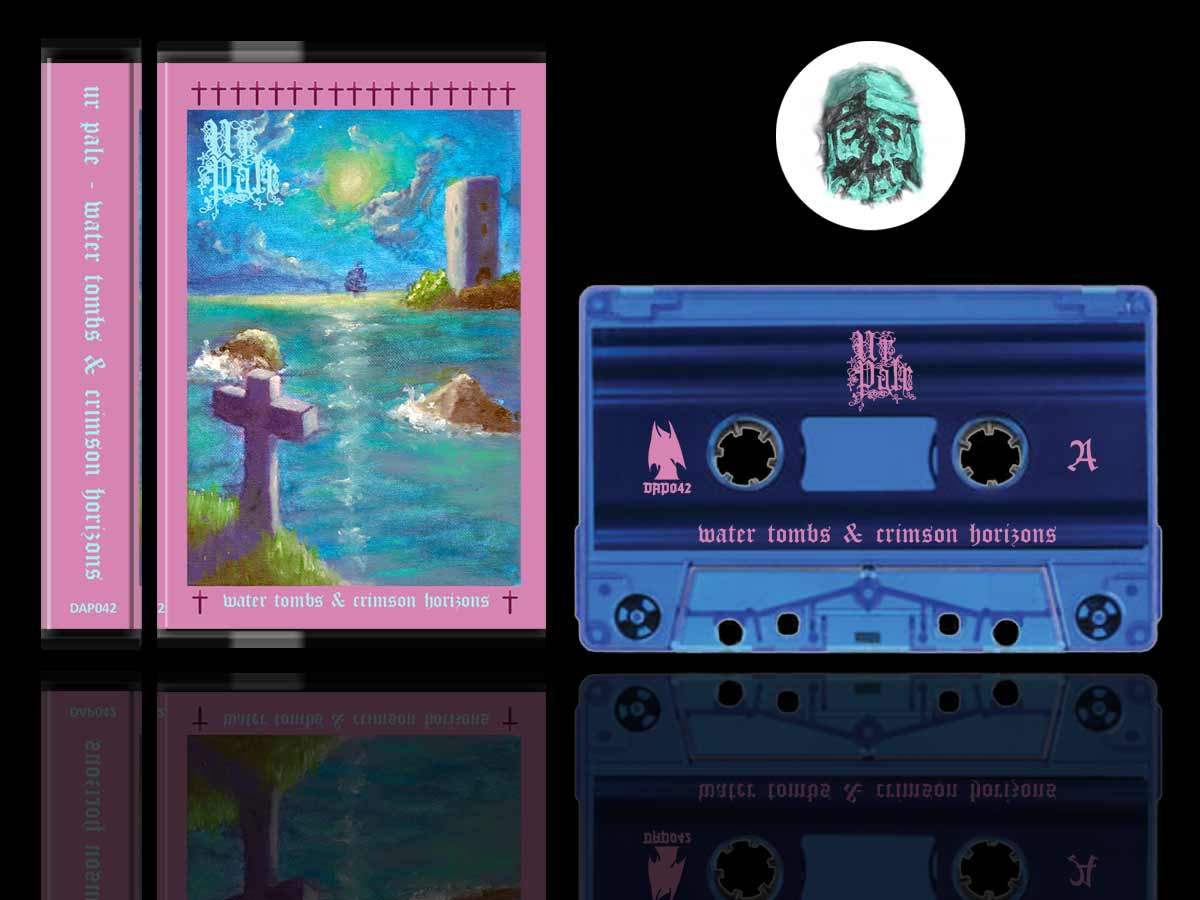 Ur Pale - Water Tombs and Sea Synth Cassette Tape Reissue