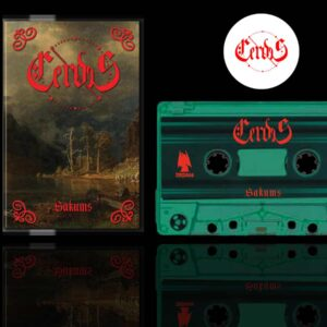 Cerdes - Sakums Cassette Tape dungeon synth dark age productions
