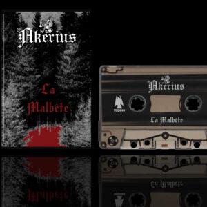 AKERIUS - La Malbête cassette tape black metal dungeon synth