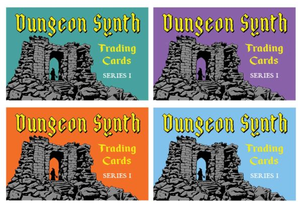 Dungeon Synth Cards Series 1 Poster Variants