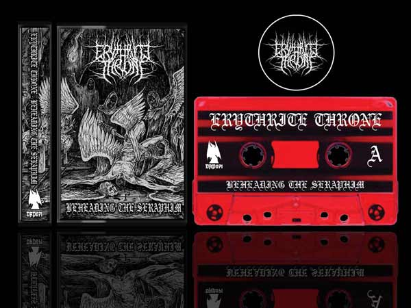 Erythrite Throne - Beheading the Seraphim Cassette Tape dungeon synth dark age productions
