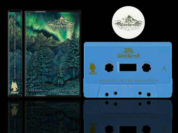 The Wanderer - Journeys In the New North Cassette Tape dungeon synth dark age productions
