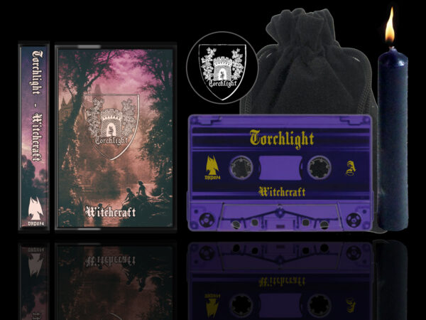 Torchlight - Witchcraft Cassette Black Flame Edition dungeon synth dark age productions